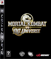 Mortal Kombat vs. DC Universe Video Game Box Art