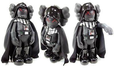 Kaws x Star Wars Darth Vader Vinyl Figure