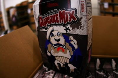 Johnny Cupcakes - There's Something In The Cupcake Mix Limited Edition Halloween T-Shirt Series - Staypuft Cupcake Man T-Shirt Box
