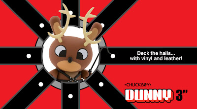 Kidrobot - 3 Inch Reindeer Dunny by Chuckboy