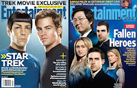 Entertainment Weekly - the October 24, 2008 Issue and the October 31, 2008 Issue Covers featuring Zachary Quinto