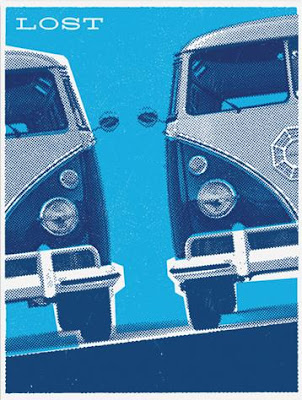 LOST Screen Print Series 3 - Dharma Vans by Ty Mattson