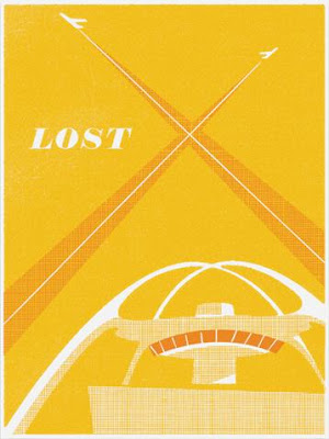 LOST Screen Print Series 3 - LA X by Ty Mattson