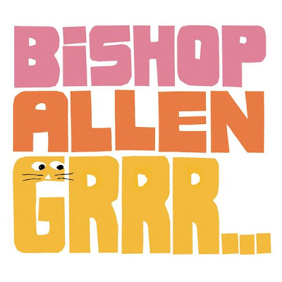 Bishop Allen - Grrr... Album Cover Artwork