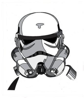 Star Wars - White Rebel (Stormtrooper) Screen Print by David Flores