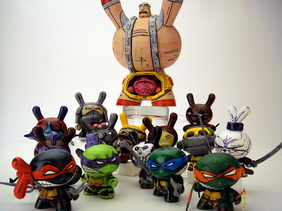 The Teenage Mutant Ninja Turtle Dunny Series by Nikejerk
