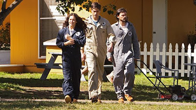 Lost - The Variable - Matthew Fox as Jack Shephard, Evangeline Lilly as Kate Austen & Jeremy Davies as Daniel Faraday