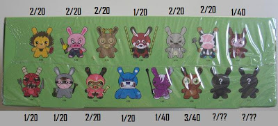Kidrobot - Dunny Endangered! Series Official Ratios