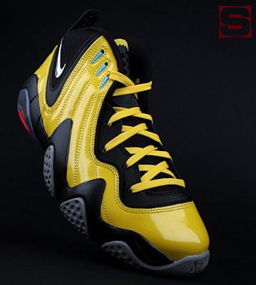 huge selection of 15e44 de7e3 The Nike x Transformers Sneaker Set - The Bumblebee Zoom FP Sneaker