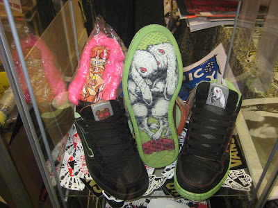 Jermaine Rogers Circus Punk and Jermaine Rogers x Vans Sneakers