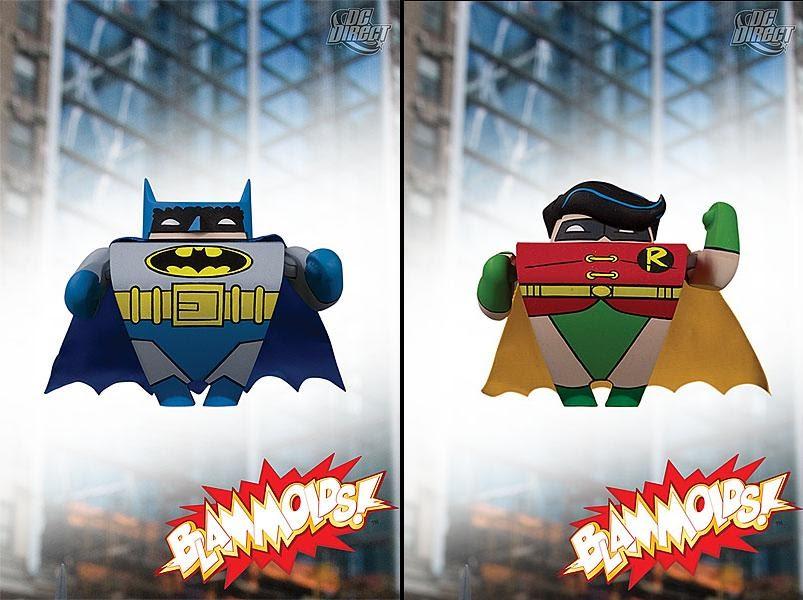 DC Direct Blammoids Series 3 Mini Figure Batman Classic