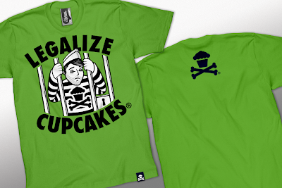 Johnny Cupcakes Summer 2010 Collection Part II - Legalize Cupcakes T-Shirt