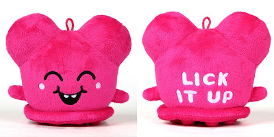 Standard Edition 5 Inch Hot Pink Lick It Up Buff Monster Plush Figure
