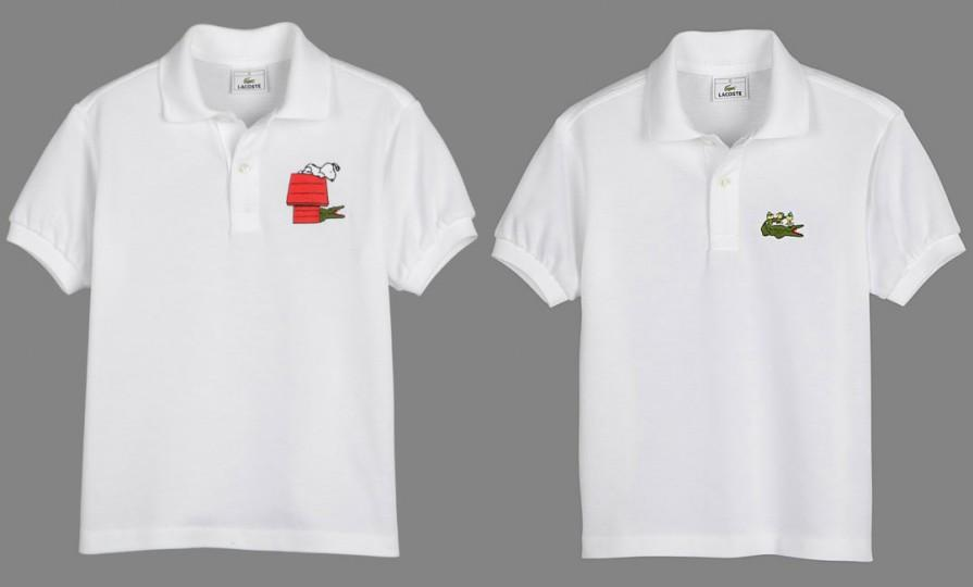 5f2cc512 Peanuts x Lacoste Polo Collection - Snoopy and Woodstock Polos