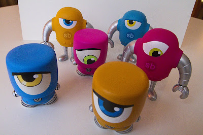 Tenacious Toys Marshall Blind Box Custom Series - Sketchbot Marshalls by Steve Talkowski with Sketchbot Vinyl Figures
