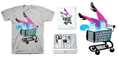 LTD Tee - Legs T-Shirt & Print Box Set by Lady Love
