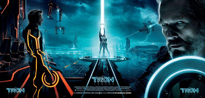 TRON: Legacy Movie Poster Triptych
