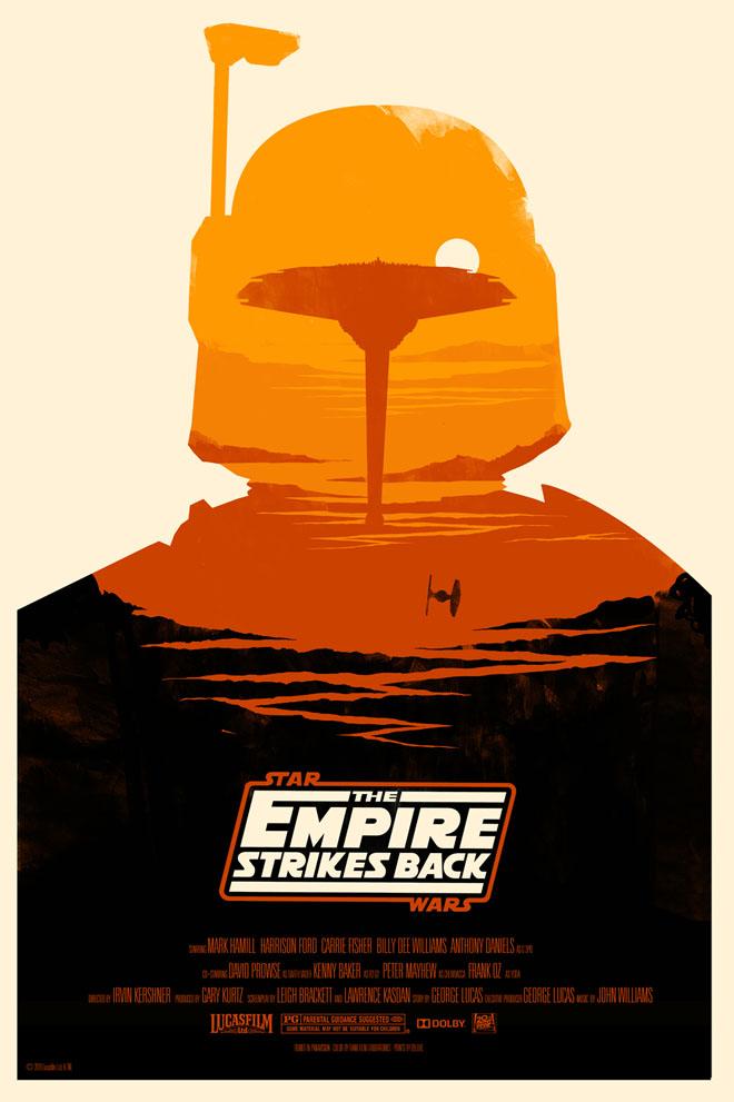 013124aaba69 Mondo Star Wars Screen Print Series  18 - The Original Star Wars Trilogy  Set by