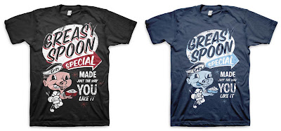"Grits Apparel x Complete Clothing ""Greasy Spoon"" T-Shirt"