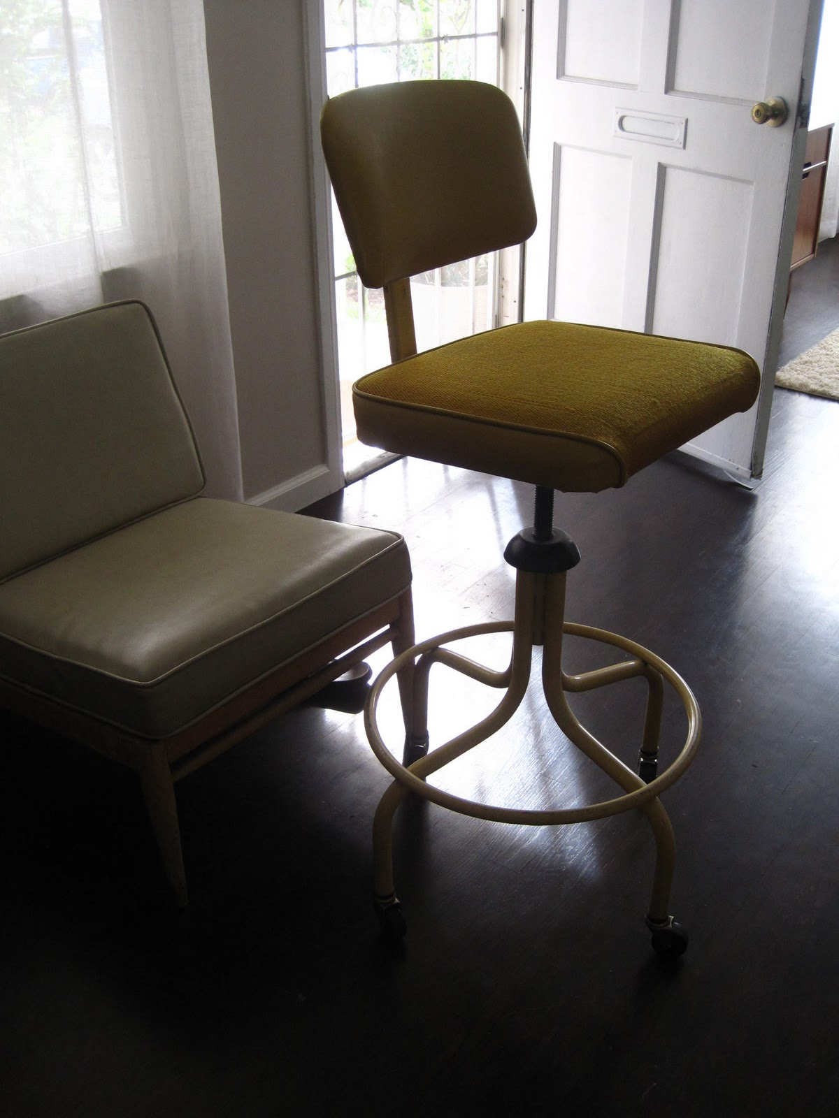 modern drafting chair conference table with chairs rhan vintage mid century blog friday finds lamps and a