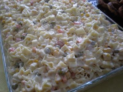 makarna salatası nasıl yapılır