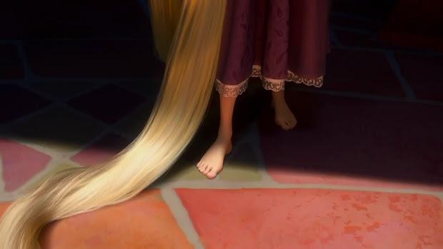 anime feet rapunzel tangled teaser