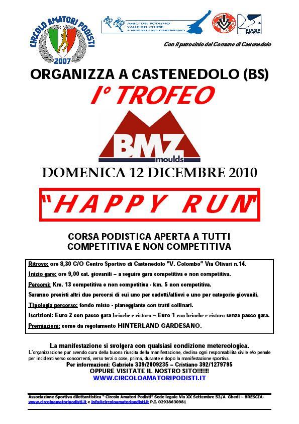 Quella prossima sarà l ultima domenica utile per racimolare punti per la  Coppa Cobram 2010. Per farlo rimane praticamente solo la Maratona di Reggio  Emilia. 8c2636cc671