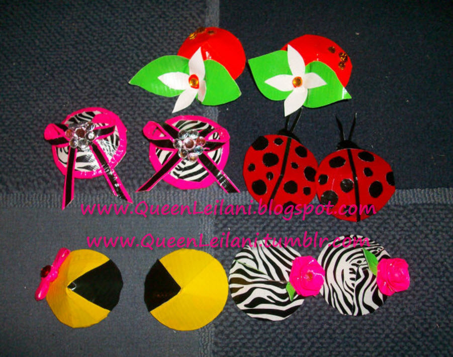 Queenleilani Diy Duct Tape Burlesque Pasties