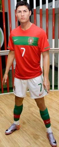 Cristiano Ronaldo's waxwork unveiled at Madame Tussauds London