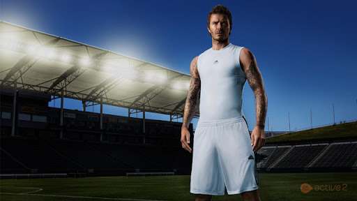 David Beckham joins EA SPORTS Active family