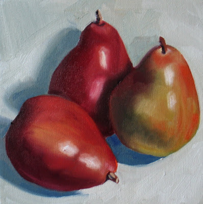 Christmas Pears.Nel S Everyday Painting Christmas Pears Sold
