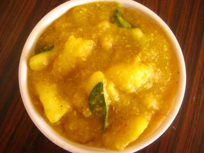 Indian Delicacies Cassava Maravalli Kilangu Curry