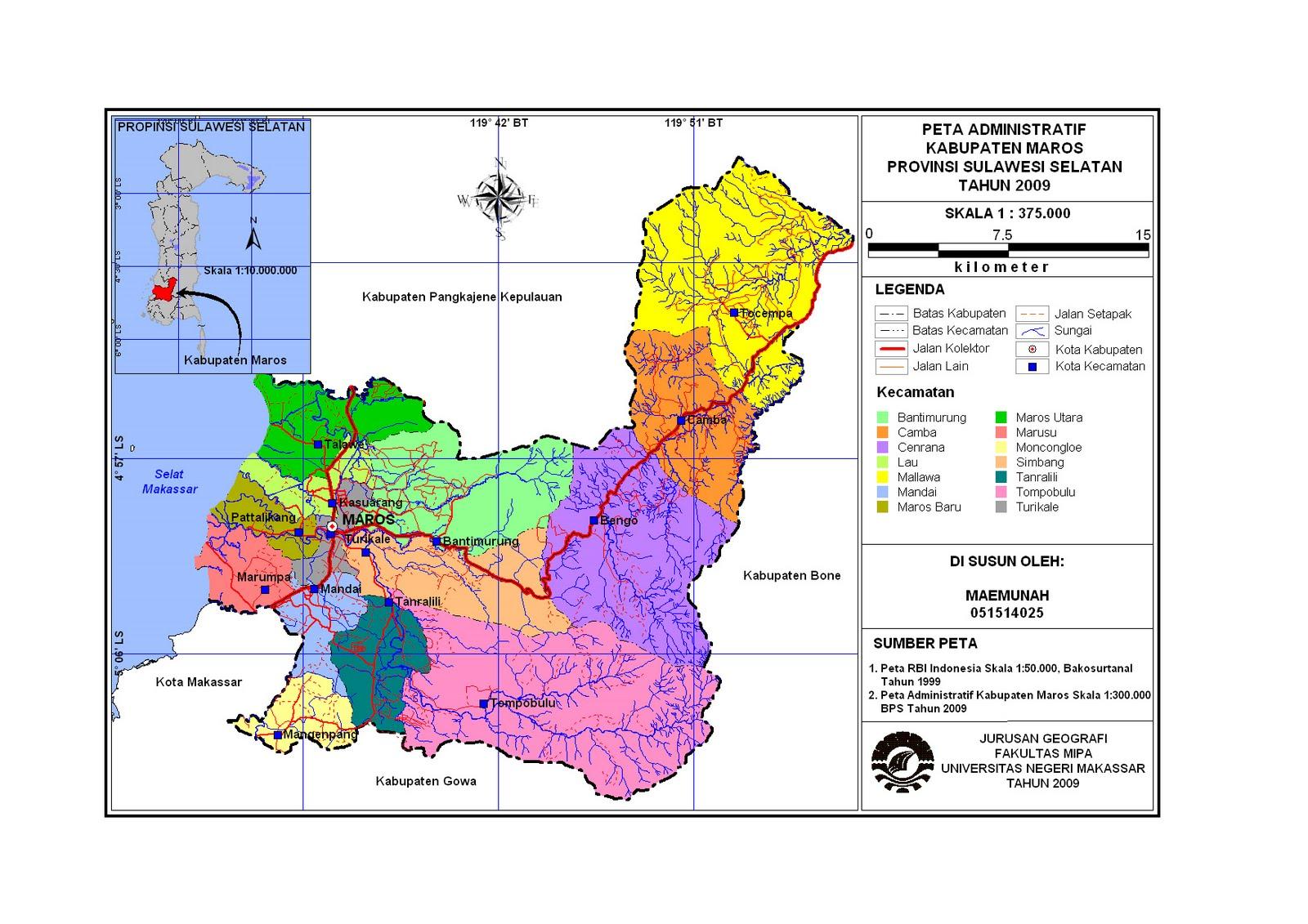 signal-geo: Peta Sulawesi Selatan
