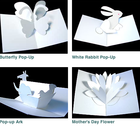 Origami Flower Pop Up Card