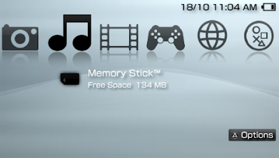 All Games PSP: PSP themes Clear Xmb for 5 00M33