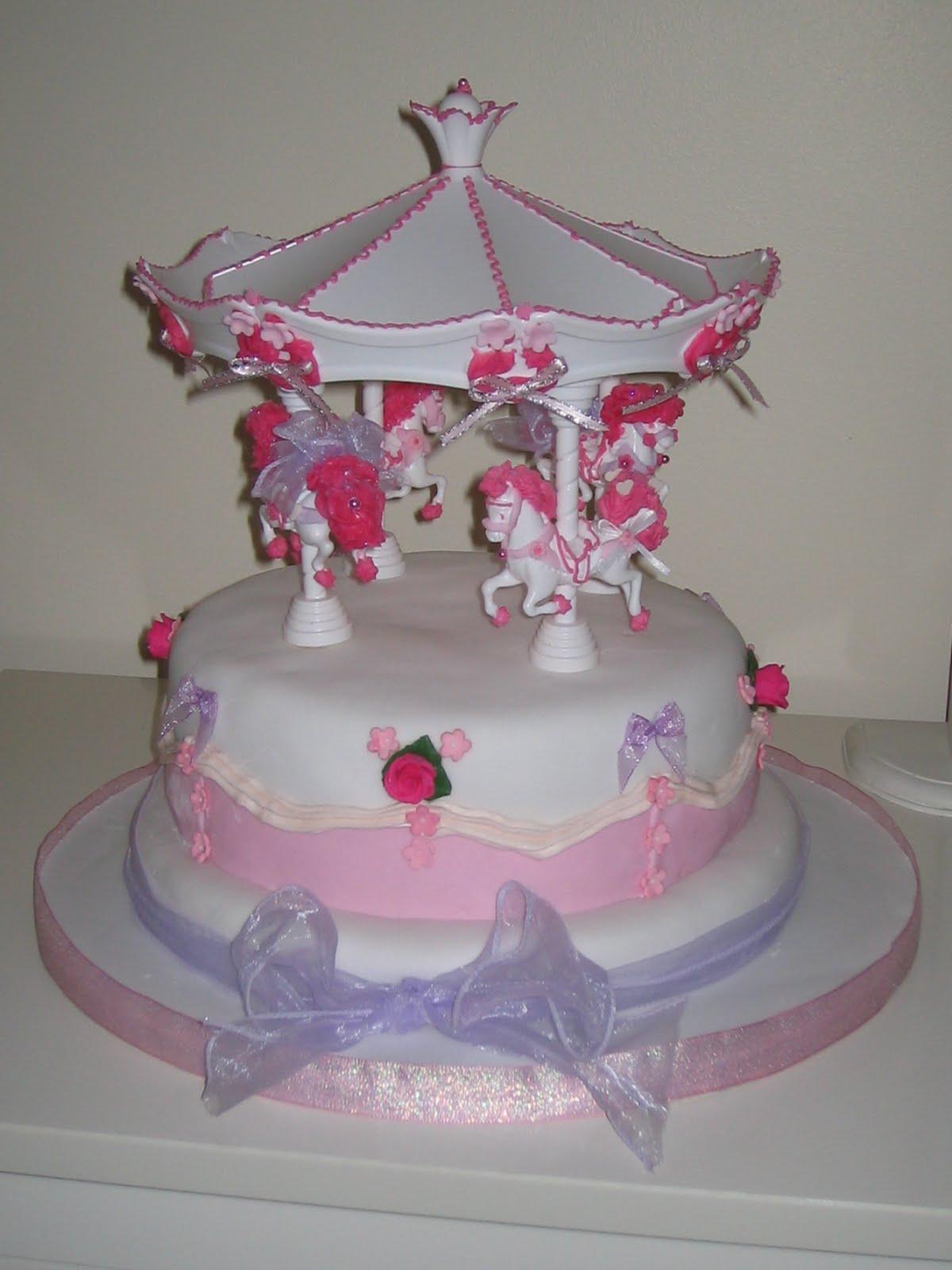 Betty Bakes Carousel Birthday Cake For Reenaa