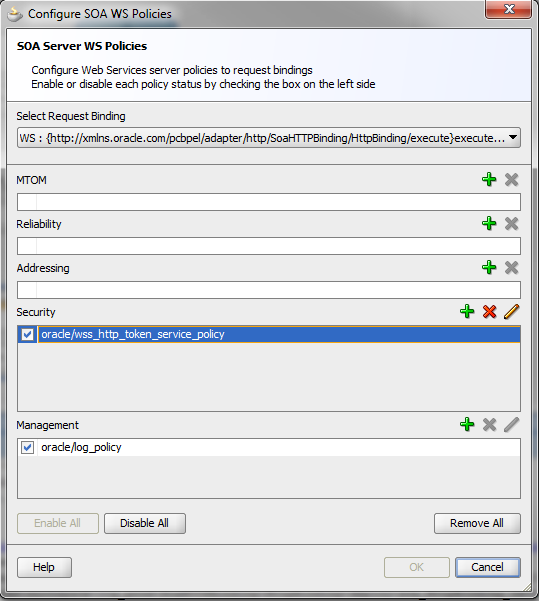 Java / Oracle SOA Blog: HTTP Basic Authentication With SOA