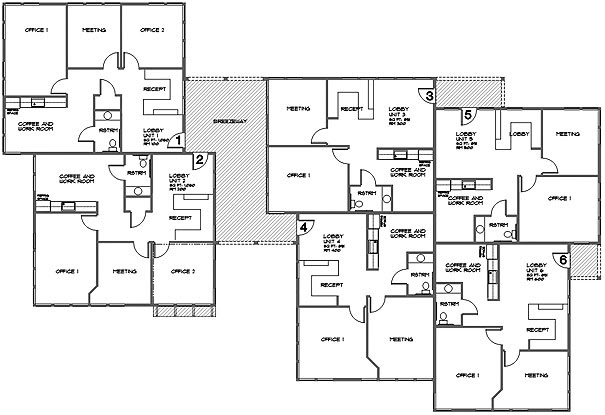 Cooper Agency Inc.: Floor Plan