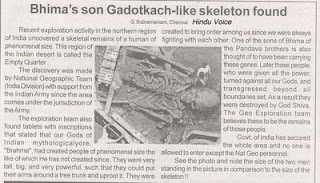 Risultati immagini per scheletri giganti foto vere