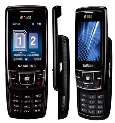 samsung d880 duos dual sim card phone