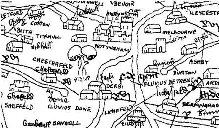Walt Disney's Story Of Robin Hood: The Gough Map