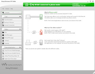 Sony Ericsson PC Suite Version 32 Download and Quick