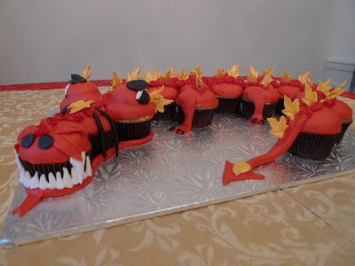 Cakebee Chinese Dragon Cake