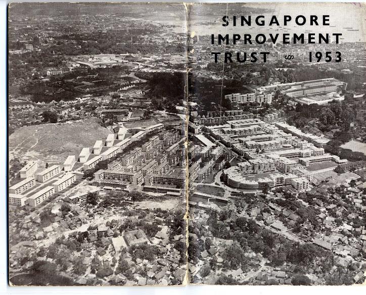 Tiong Bahru old aerial
