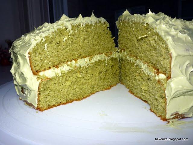 Green Tea Cake Recipe Japanese: Bakerize: Green Tea Cake