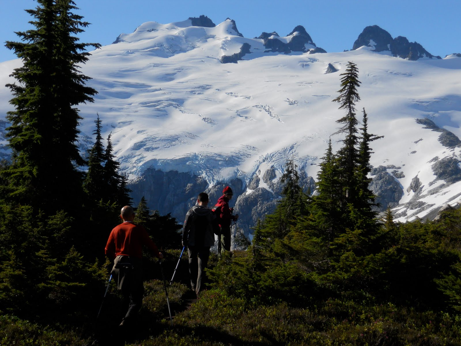 c341fb8171df When the Backpackers arrived with this view they began to serenade. Mt.  Challenger with songs from the Sound of Music