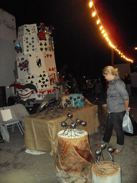 Arthappenings Art Walk Downtown Pomona 8.14.10