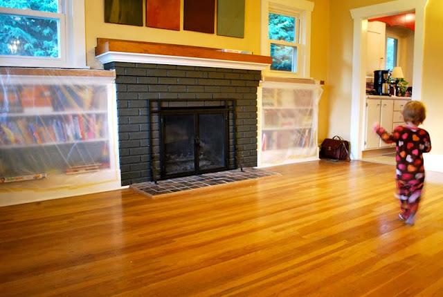 Hardwood Floors and Moving On