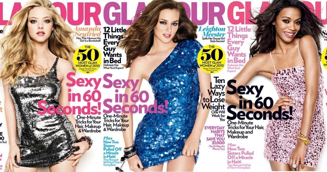 Fashion Whore: April Magazine Covers..