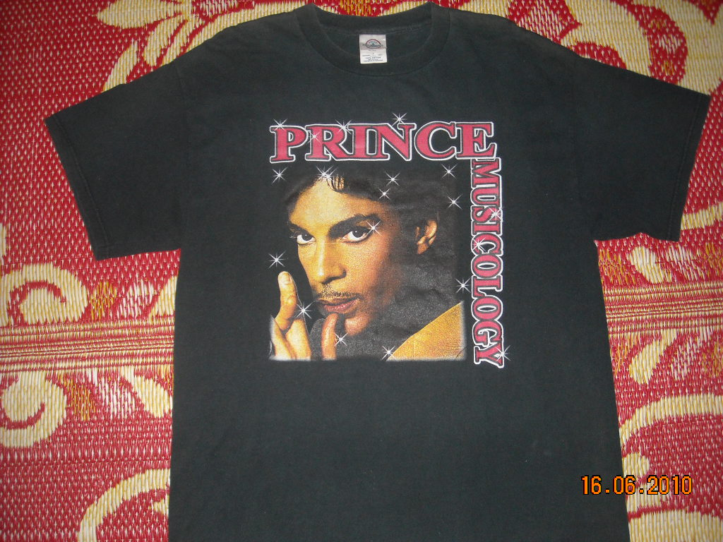 OldSchoolZone: PRINCE band Musicology 2004 Tour T-shirt